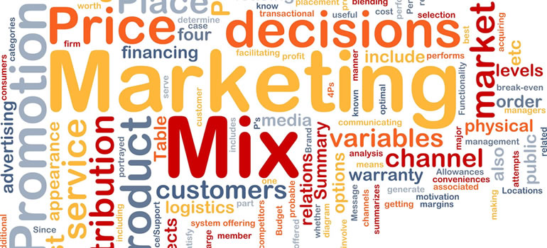 Mix de marketing: las 4 Ps y las 4 Cs